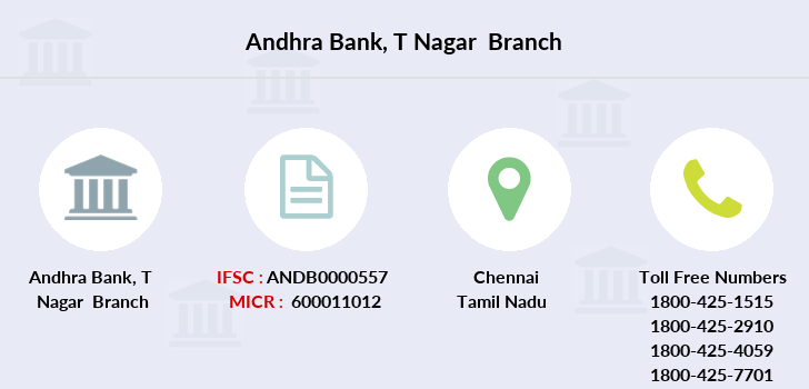 Andhra-bank T-nagar branch