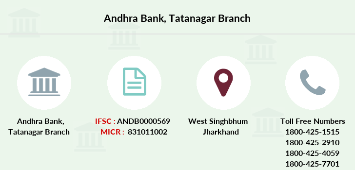 Andhra-bank Tatanagar branch