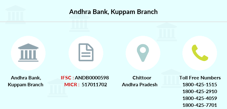 Andhra-bank Kuppam branch