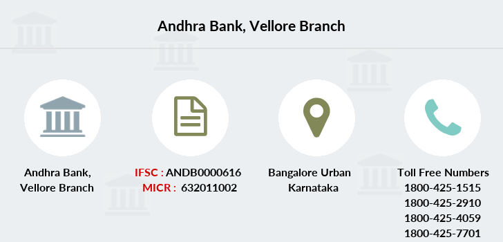 Andhra-bank Vellore branch