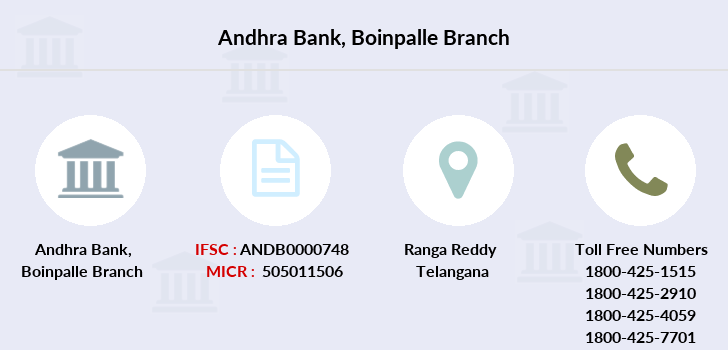 Andhra-bank Boinpalle branch