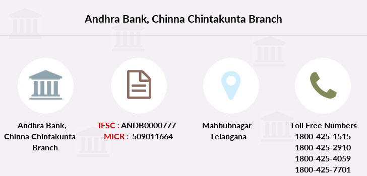 Andhra-bank Chinna-chintakunta branch