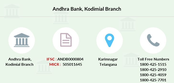 Andhra-bank Kodimial branch