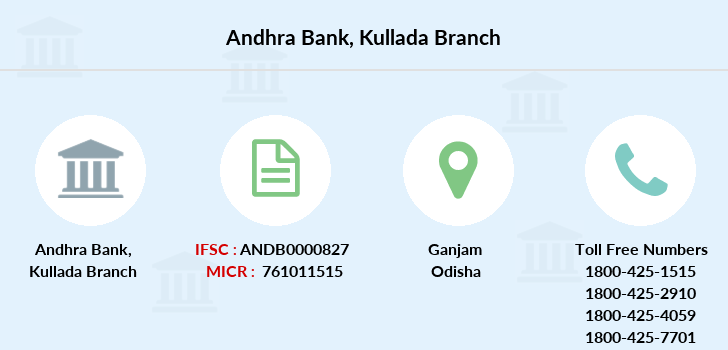 Andhra-bank Kullada branch