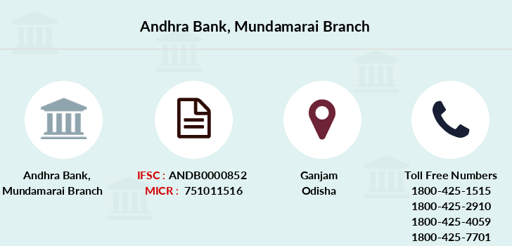 Andhra-bank Mundamarai branch