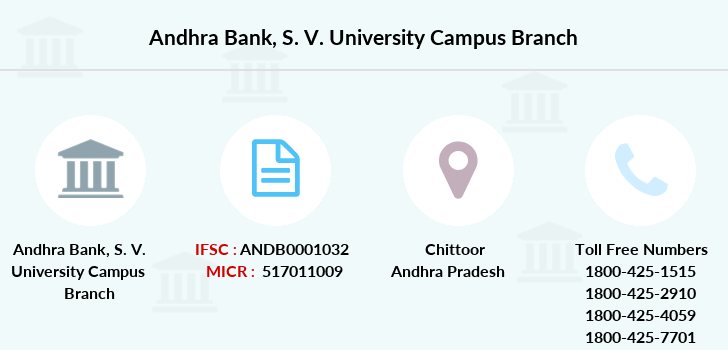 Andhra-bank S-v-university-campus branch