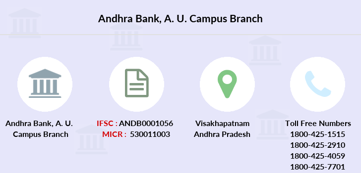 Andhra-bank A-u-campus branch