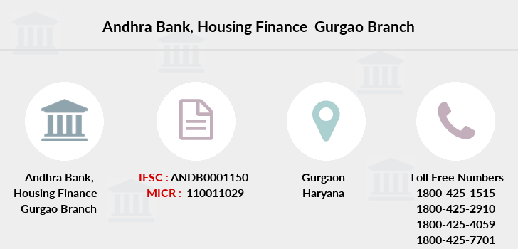 Andhra-bank Housing-finance-gurgao branch