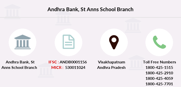 Andhra-bank St-anns-school branch