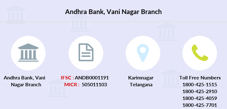 Andhra-bank Vani-nagar branch