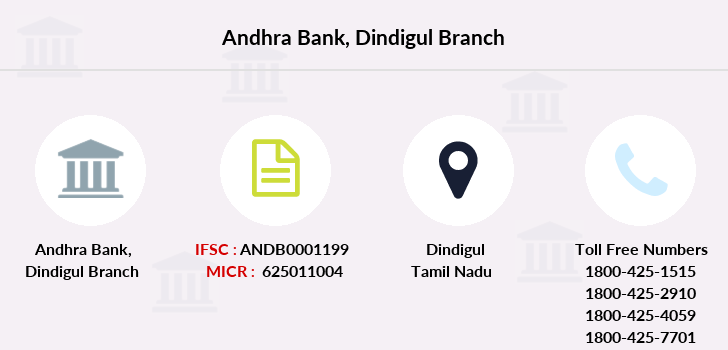 Andhra-bank Dindigul branch