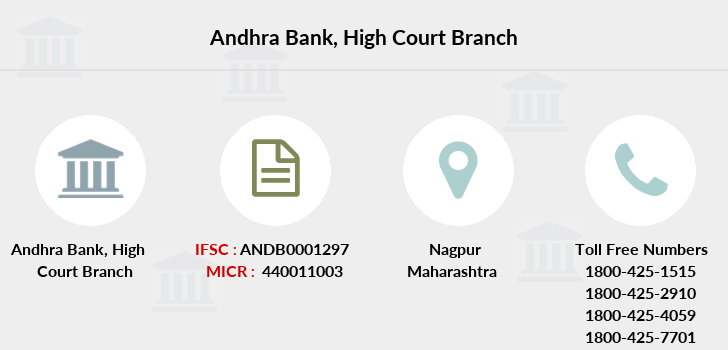 Andhra-bank High-court branch
