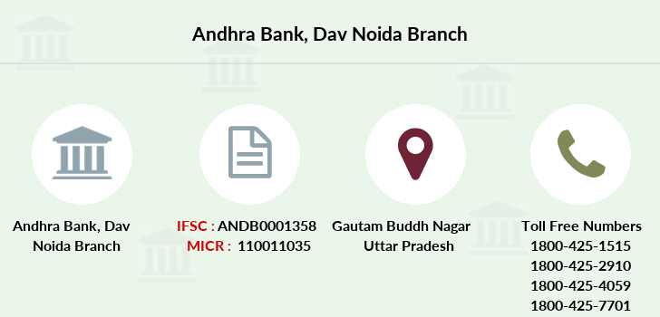 Andhra-bank Dav-noida branch