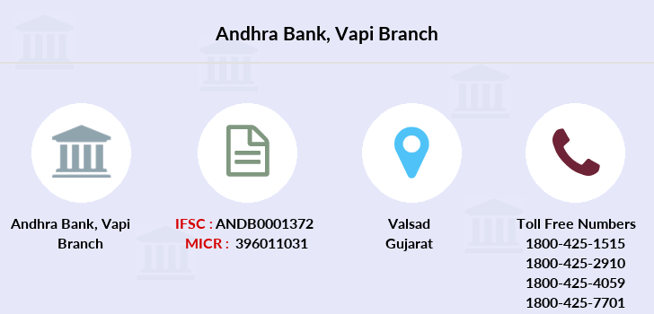 Andhra-bank Vapi branch