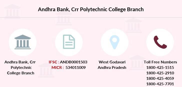 Andhra-bank Crr-polytechnic-college branch