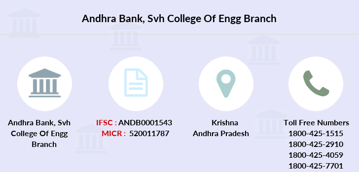 Andhra-bank Svh-college-of-engg branch