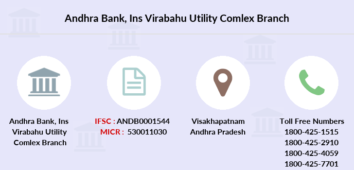 Andhra-bank Ins-virabahu-utility-comlex branch