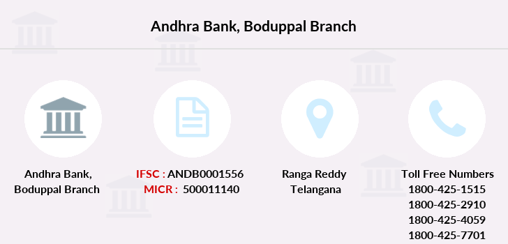 Andhra-bank Boduppal branch