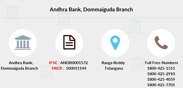 Andhra-bank Dommaiguda branch