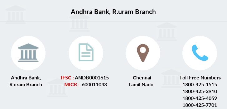Andhra-bank R-uram branch