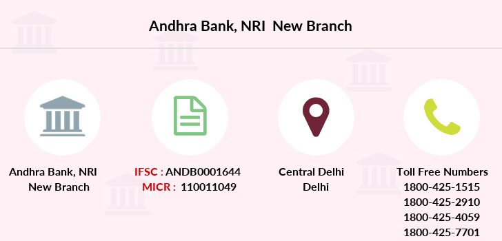 Andhra-bank Nri-new branch