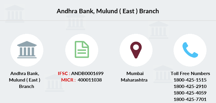 Andhra-bank Mulund-east branch