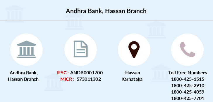 Andhra-bank Hassan branch