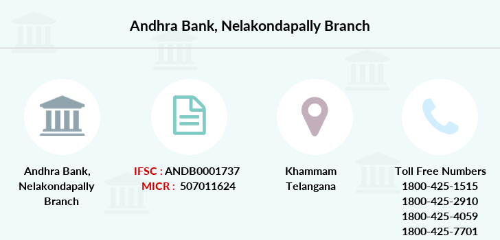 Andhra-bank Nelakondapally branch