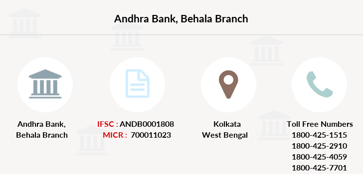 Andhra-bank Behala branch