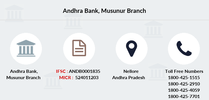 Andhra-bank Musunur branch
