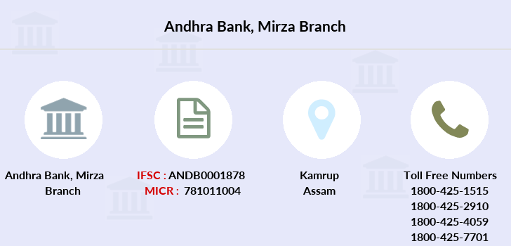 Andhra-bank Mirza branch