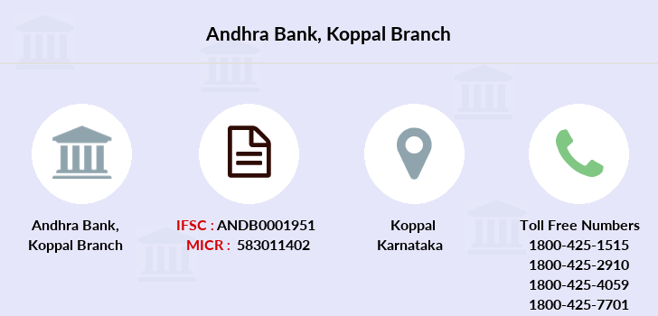 Andhra-bank Koppal branch