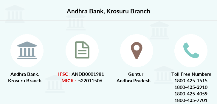 Andhra-bank Krosuru branch
