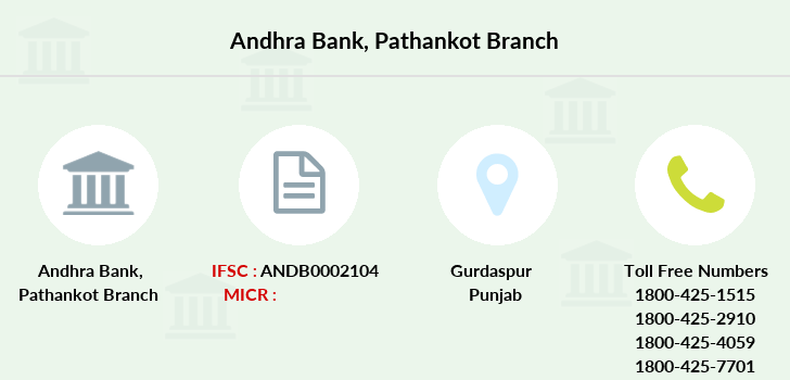 Andhra-bank Pathankot branch