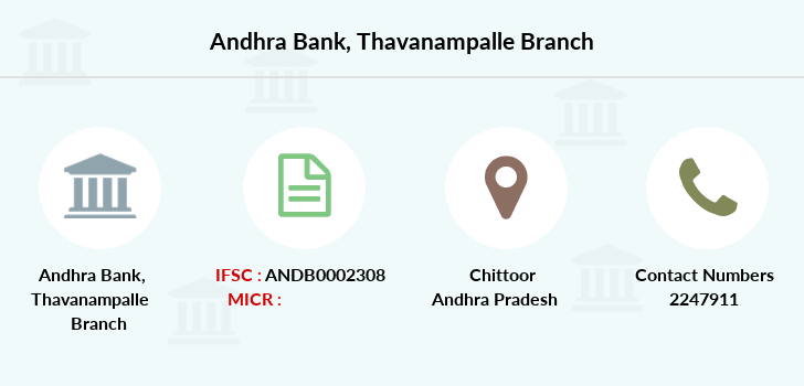 Andhra-bank Thavanampalle branch