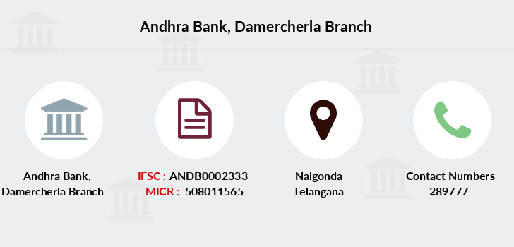 Andhra-bank Damercherla branch