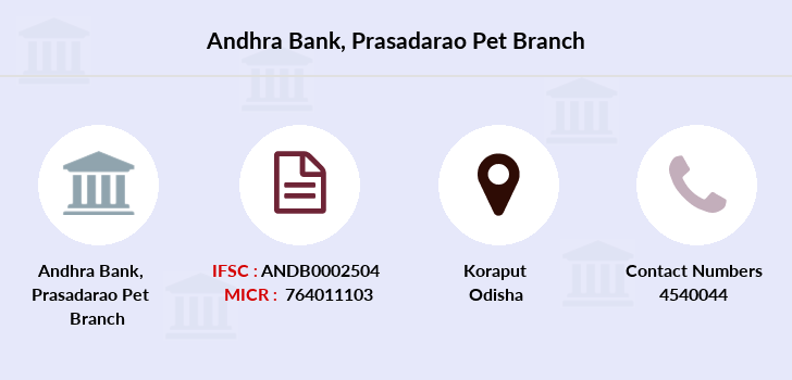 Andhra-bank Prasadarao-pet branch