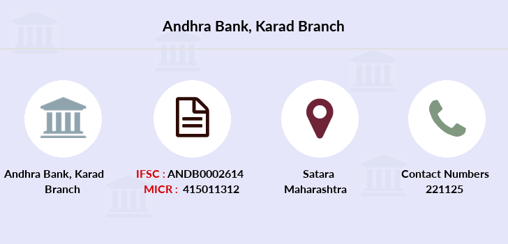 Andhra-bank Karad branch