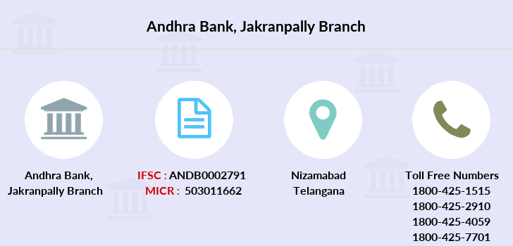 Andhra-bank Jakranpally branch