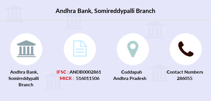 Andhra-bank Somireddypalli branch