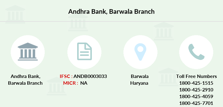 Andhra-bank Barwala branch