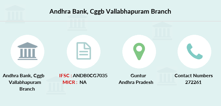 Andhra-bank Cggb-vallabhapuram branch