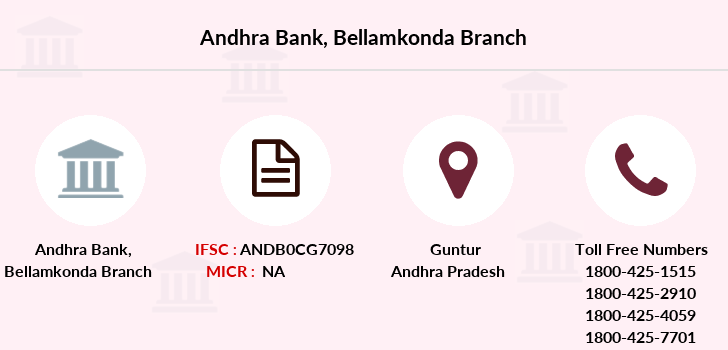 Andhra-bank Bellamkonda branch