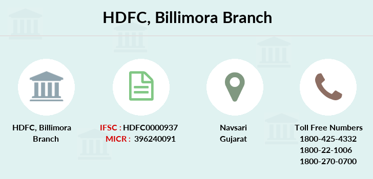 Hdfc-bank Billimora branch
