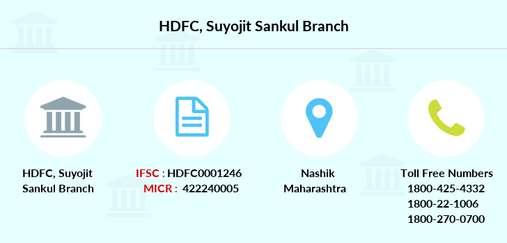 Hdfc-bank Suyojit-sankul branch