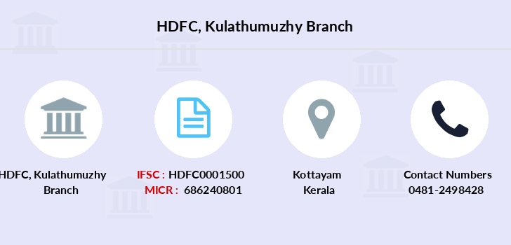 Hdfc-bank Kulathumuzhy branch