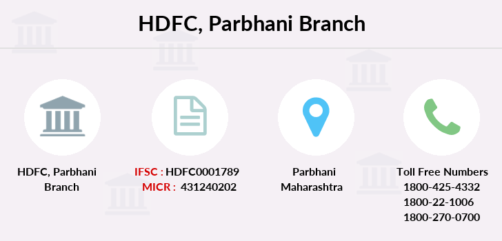 Hdfc-bank Parbhani branch
