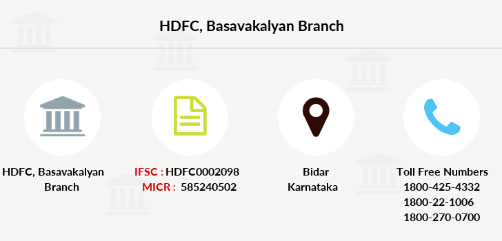 Hdfc-bank Basavakalyan branch