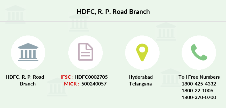 Hdfc-bank R-p-road branch