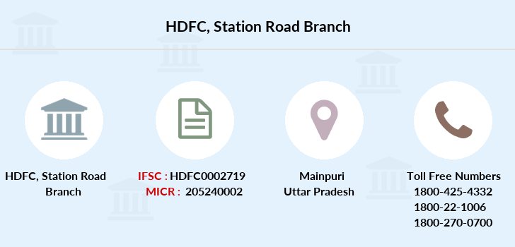 Hdfc-bank Station-road branch